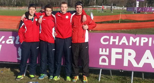 Championnat de France de cross-country Le Pontet (Vaucluse) 2014